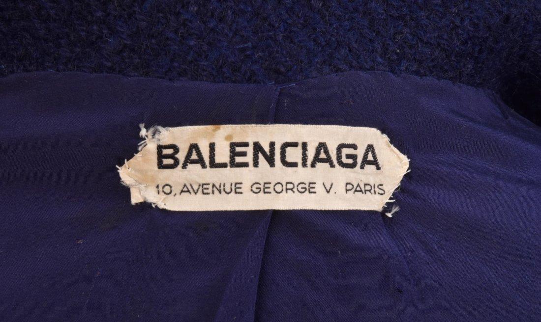 BALENCIAGA COUTURE COAT, 1960s - 4
