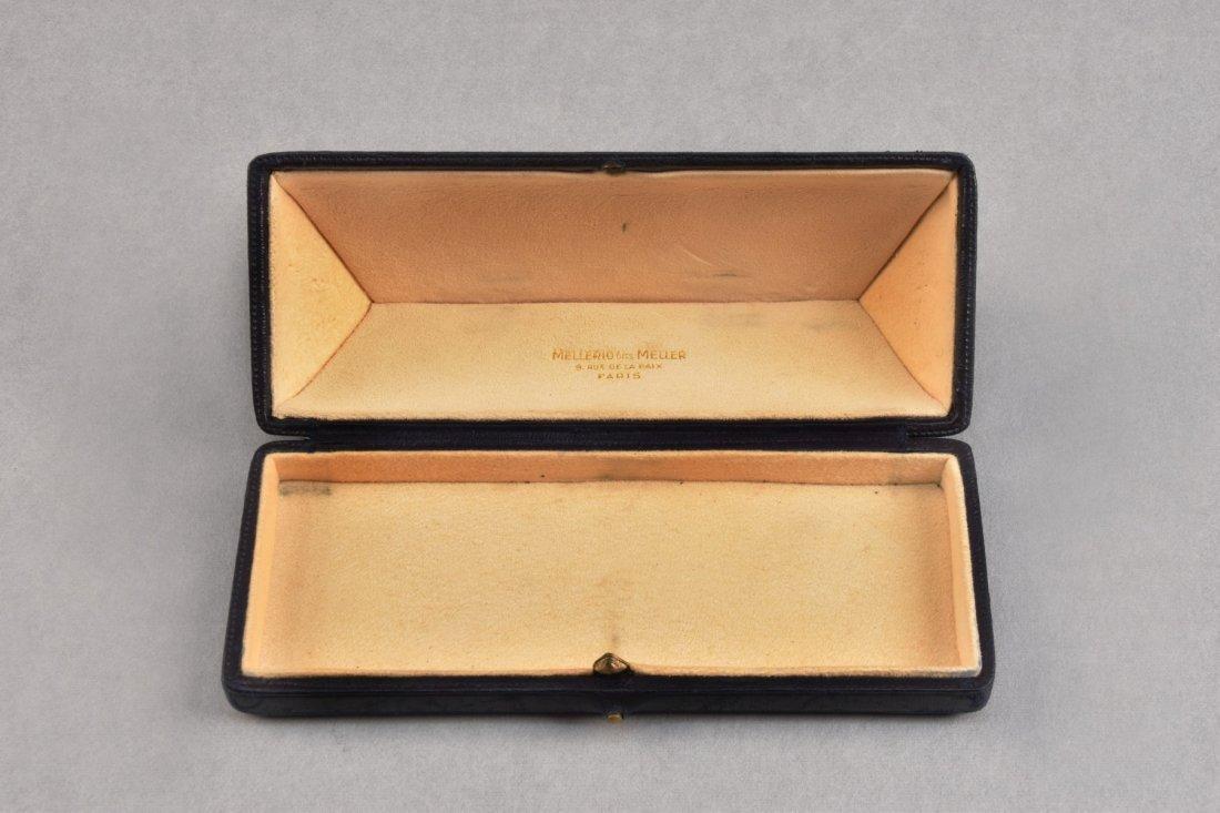 RARE MELLERIO dits MELLER 18K GOLD SUNGLASSES, 1967. - 3