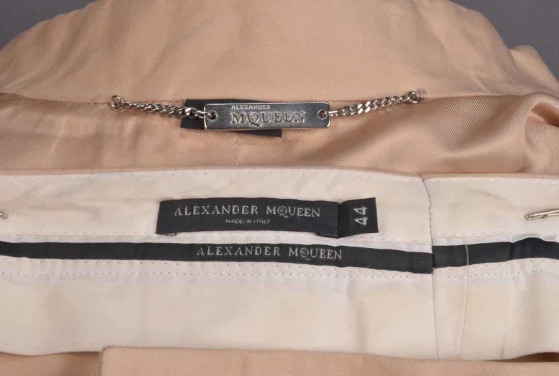 ALEXANDER McQUEEN MIRROR-TRIMMED PANTSUIT - 4
