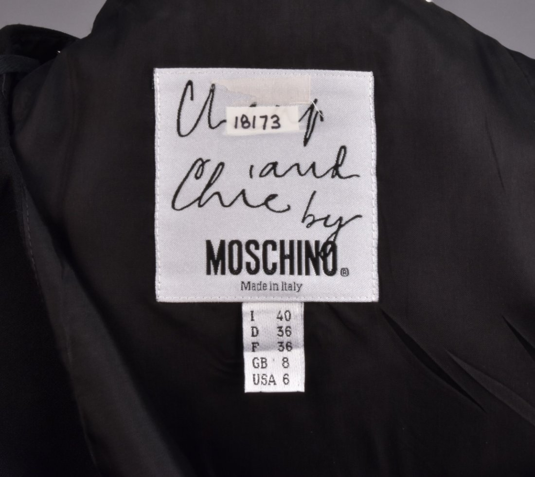 MOSCHINO SKIRT SUIT with PIQUE TRIM - 3