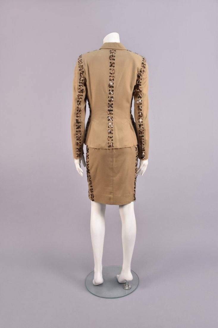 TOM FORD for YSL MOMBASSA COLLECTION SKIRT SUIT, 2002. - 2