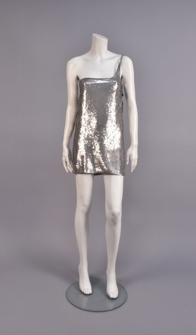 TOM FORD for GUCCI DEADSTOCK SEQUINED MINIDRESS, 1998.