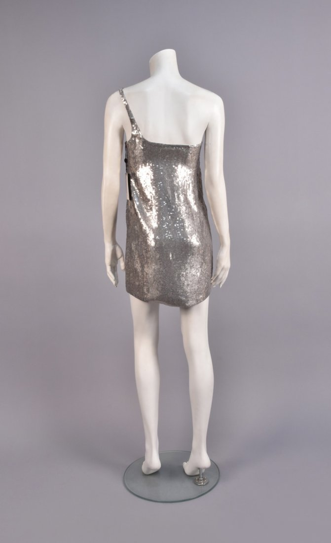 TOM FORD for GUCCI DEADSTOCK SEQUINED MINIDRESS, 1998. - 2