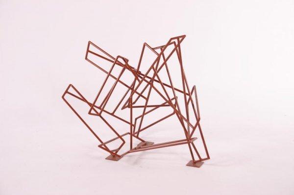 4: Johny Blue Abstrakt sculpture, USA 1980's