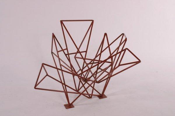 5: Johny Blue Abstrakt sculpture, USA 1980's