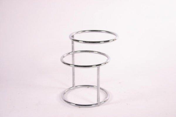 9: Mid Century Modern Round coffee table, USA c. 1970