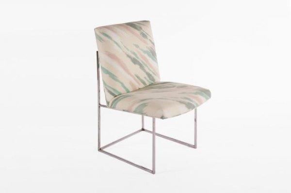 4: Milo Baughman Dining chairs, set of 6, USA 1970