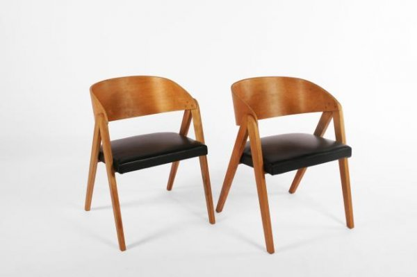 "5: Allan Gould ""Compass"" chairs, USA circa 1949"