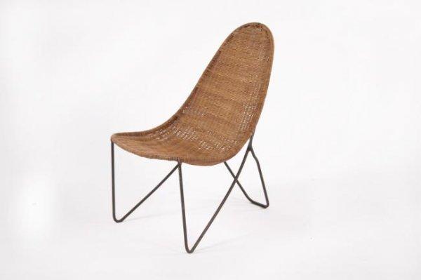 16: Mid-Century Modern Child chair, USA circa 1950