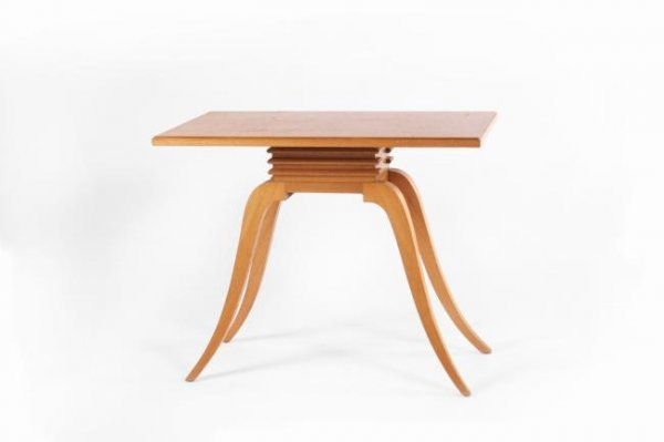 20: Paul Frankl Wing table, USA circa 1950