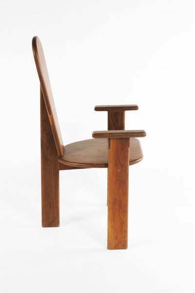 55: Gerald McCabe table and 8 chairs, USA c. 1960 - 3
