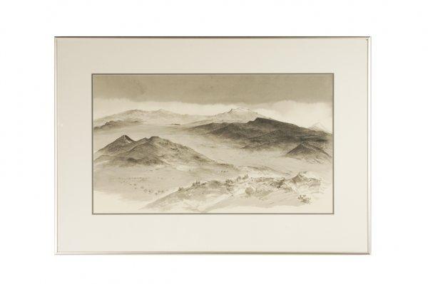 191: Luis Nishizawa Flores : Volcanoes, Mexico 1970
