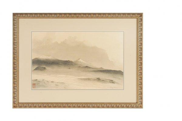 192: Luis Nishizawa ( 1918- ) : Volcanoes, Mexico 1970