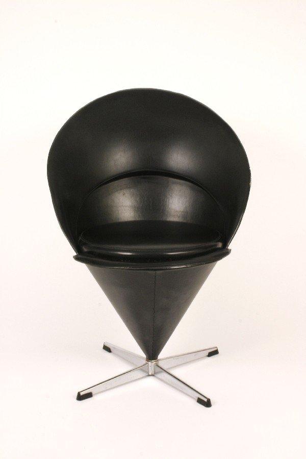 "2: Verner Panton ""Cone"" chair c. 1960"