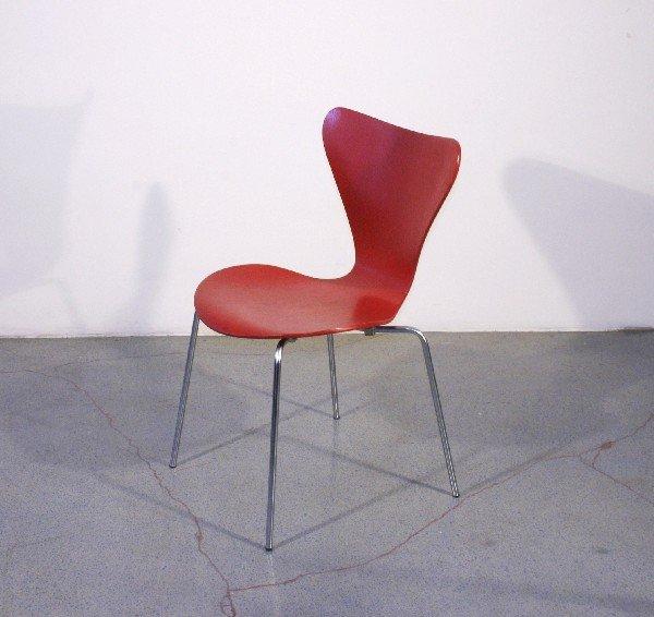 6: Arne Jacobsen Ant chair, 1951