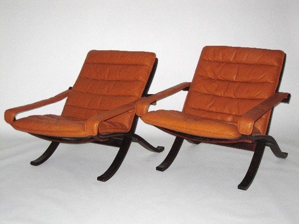 8: WestNofa lounge chairs, Denmark c. 1970