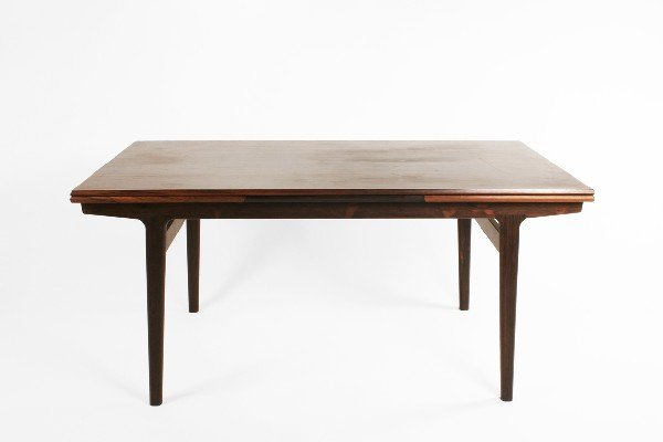 13: Danish rosewood dining table c. 1950