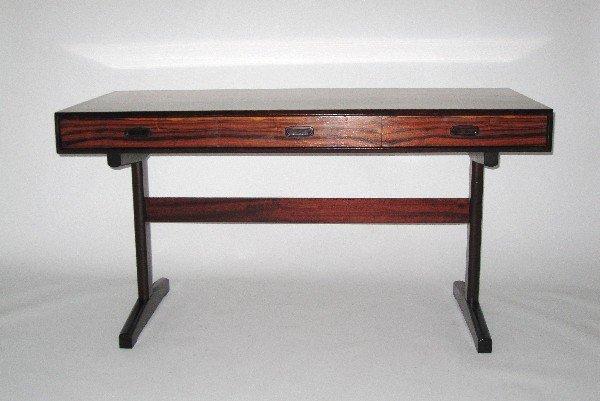 14: Rosewood desk, Norway c. 1950-1960