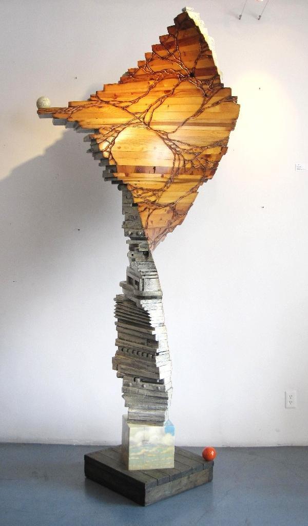20: Randall D. Oldrieve: Gigantic 9 feet Sculpture 2008