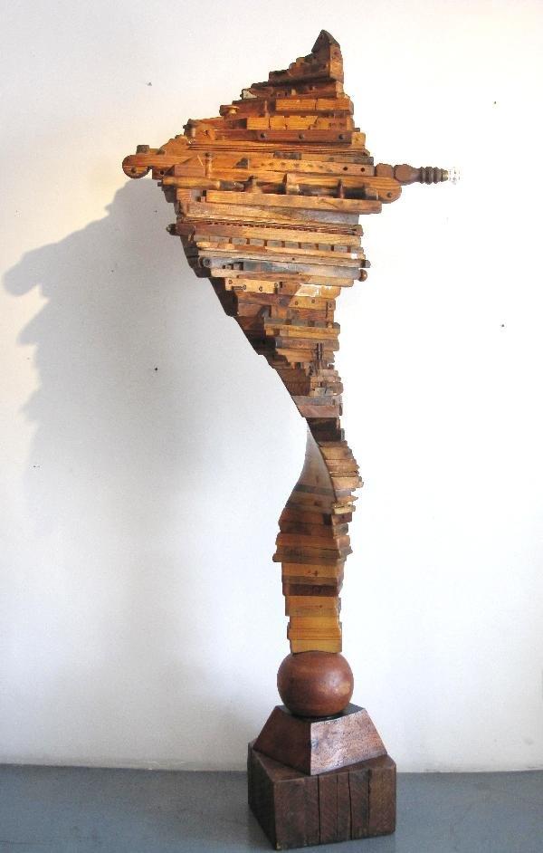 21: Randall D. Oldrieve: Twister, Gigantic Sculpture