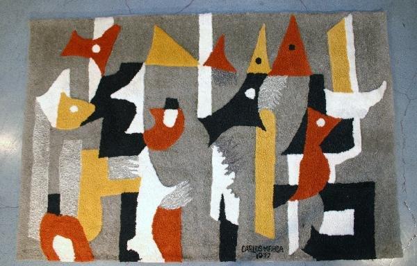 214: Carlos Merida ( 1891-1995): Tapestry , Mexico 1977