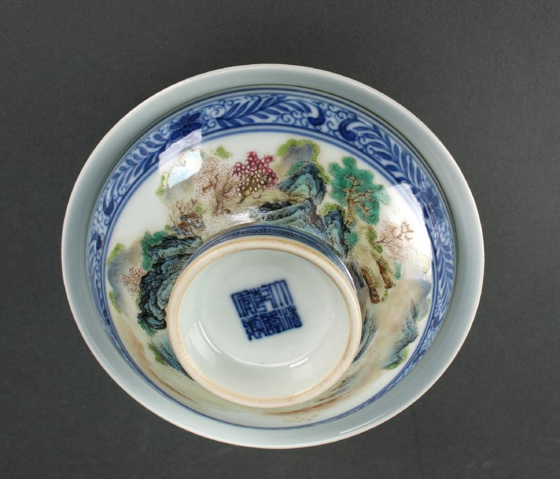TWO LIDDED PORCELAIN RICE BOWLS IN BOX - 6