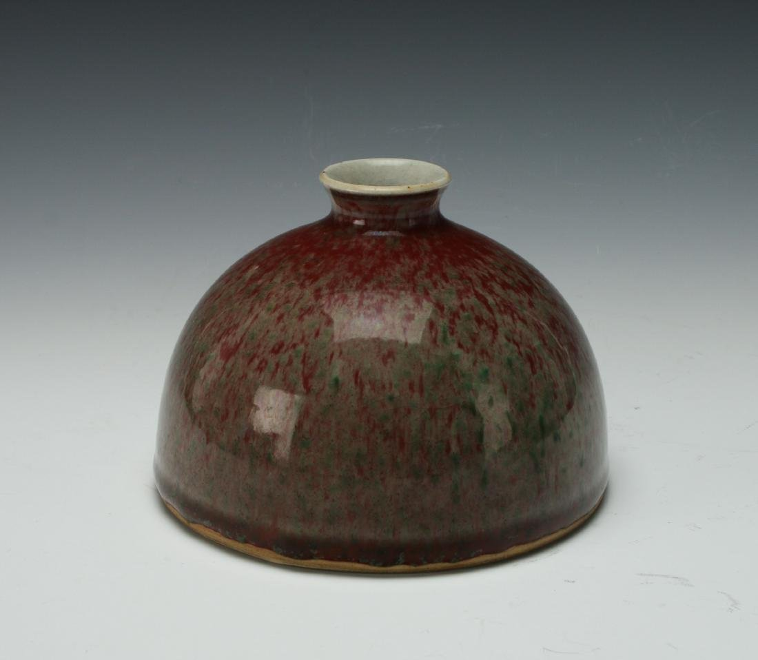 RED COWPEA GLAZED INK POT