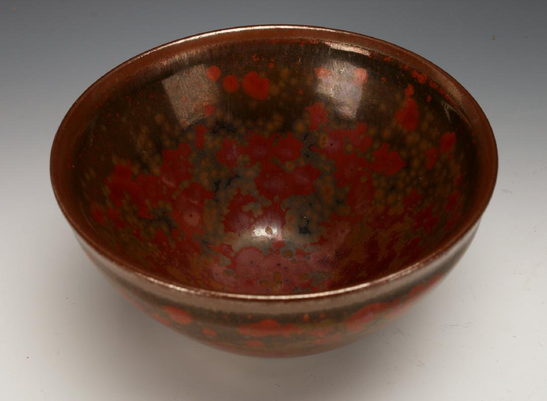 CRATER GLAZED BOWL - 2
