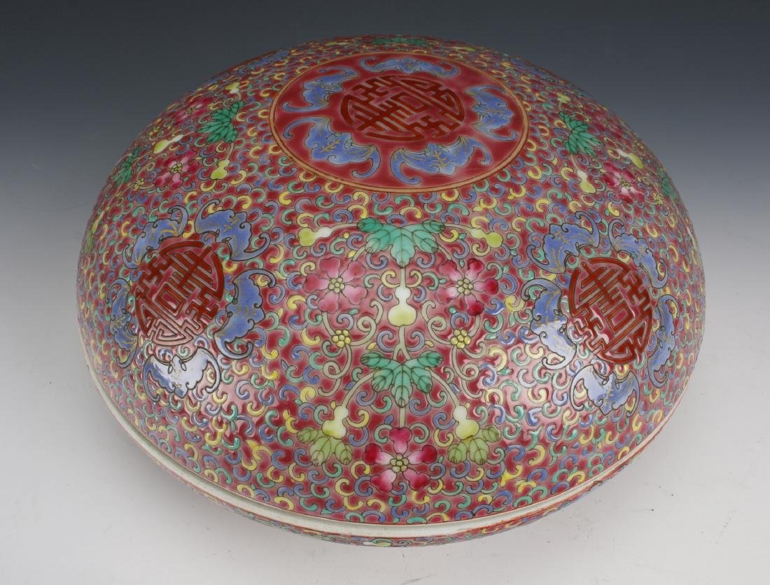 PORCELAIN LIDDED BOX - 5