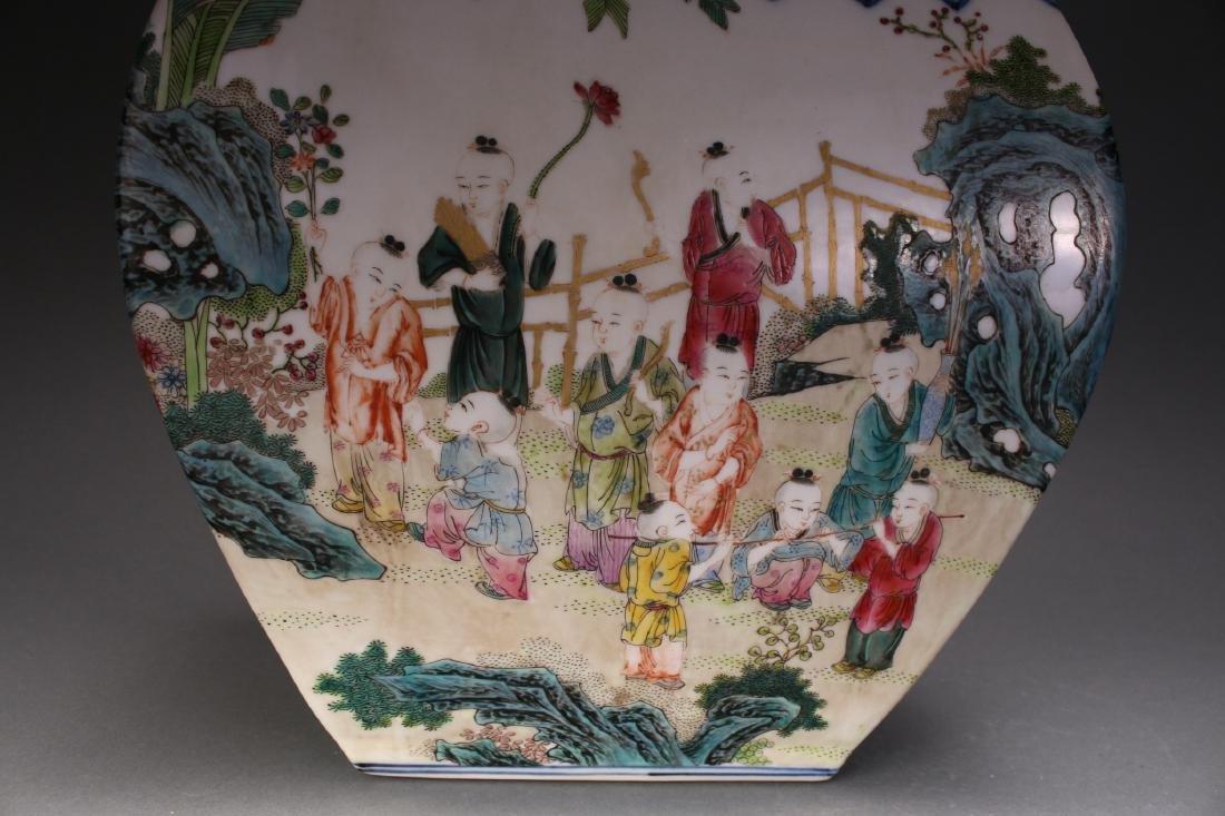 CHINESE QIAN LONG ZUN VASE - 6