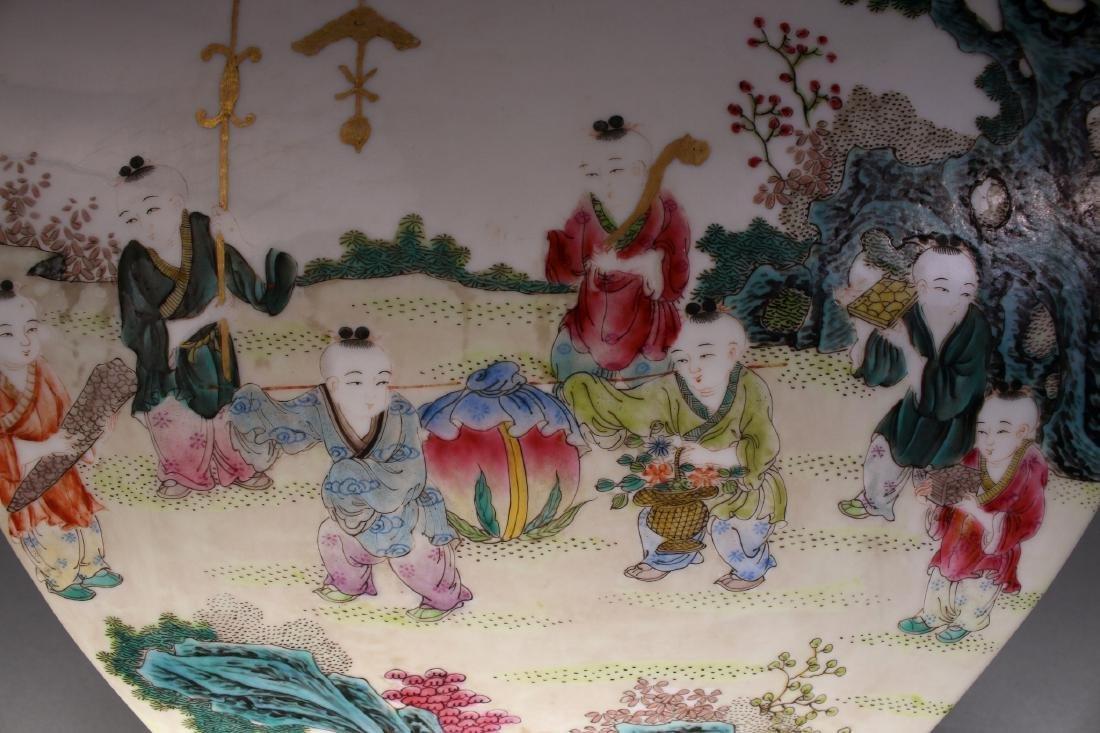 CHINESE QIAN LONG ZUN VASE - 8