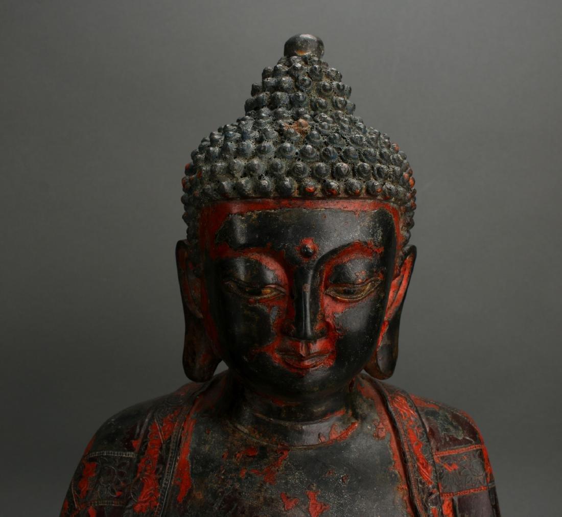 BRONZE BUDDHA - 6
