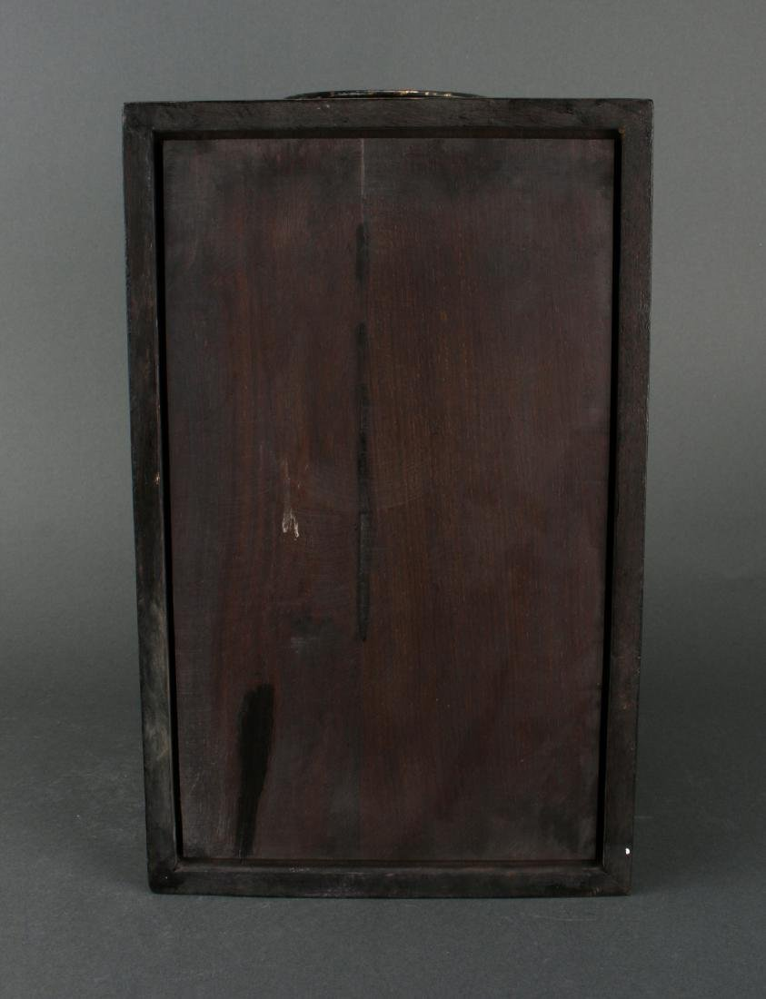 ZITAN CARVED BOX - 10