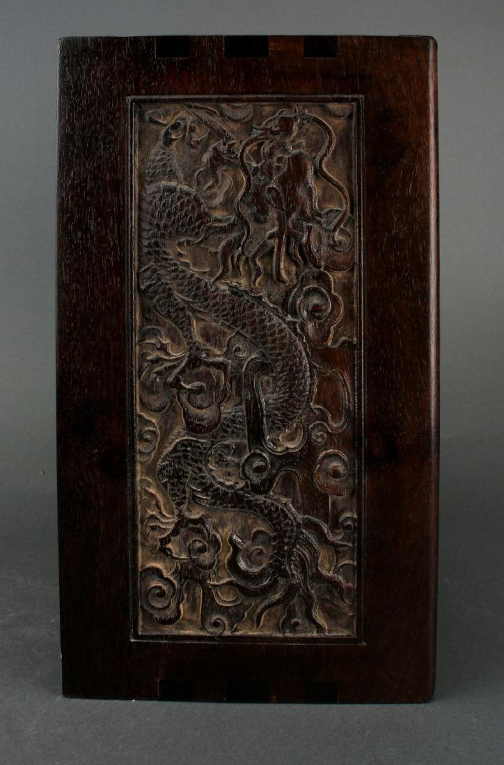 ZITAN CARVED BOX - 4