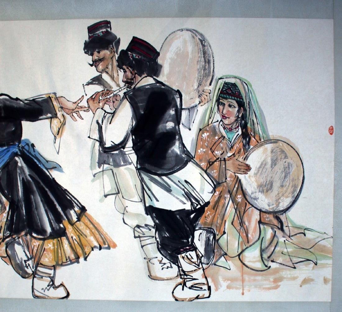 PAINTING OF DANCING PEOPLE - 5