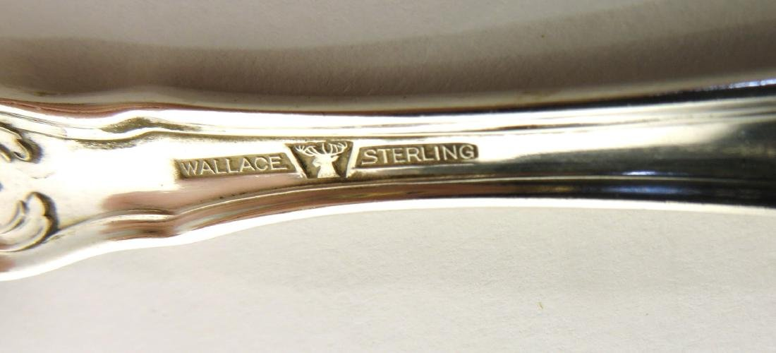 """EIGHT STERLING SPOONS """"WALLACE"""" - 4"""