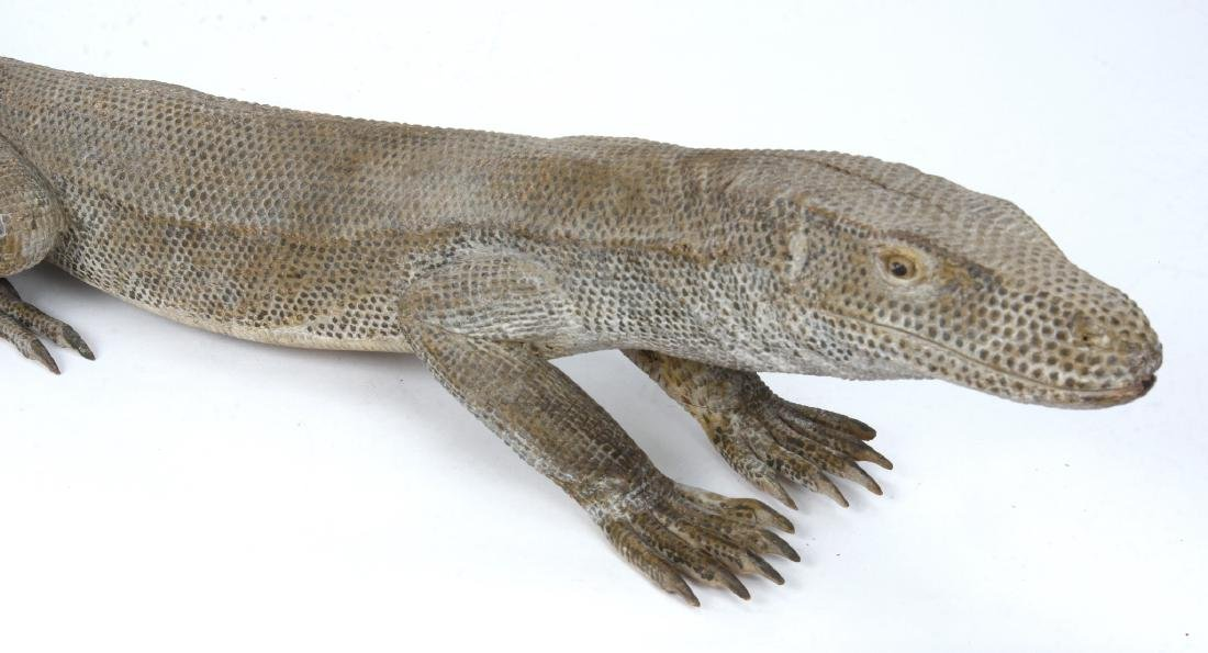 MONITOR LIZARD CARVING - 2