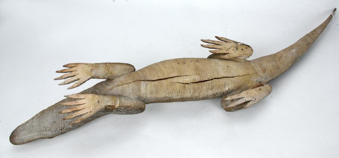 MONITOR LIZARD CARVING - 4