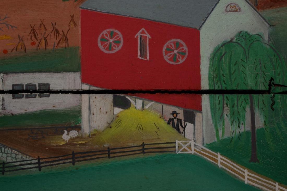 """""""LONG LANE FARM"""" BY DAVID ELLINGER (1913-2003) - 5"""