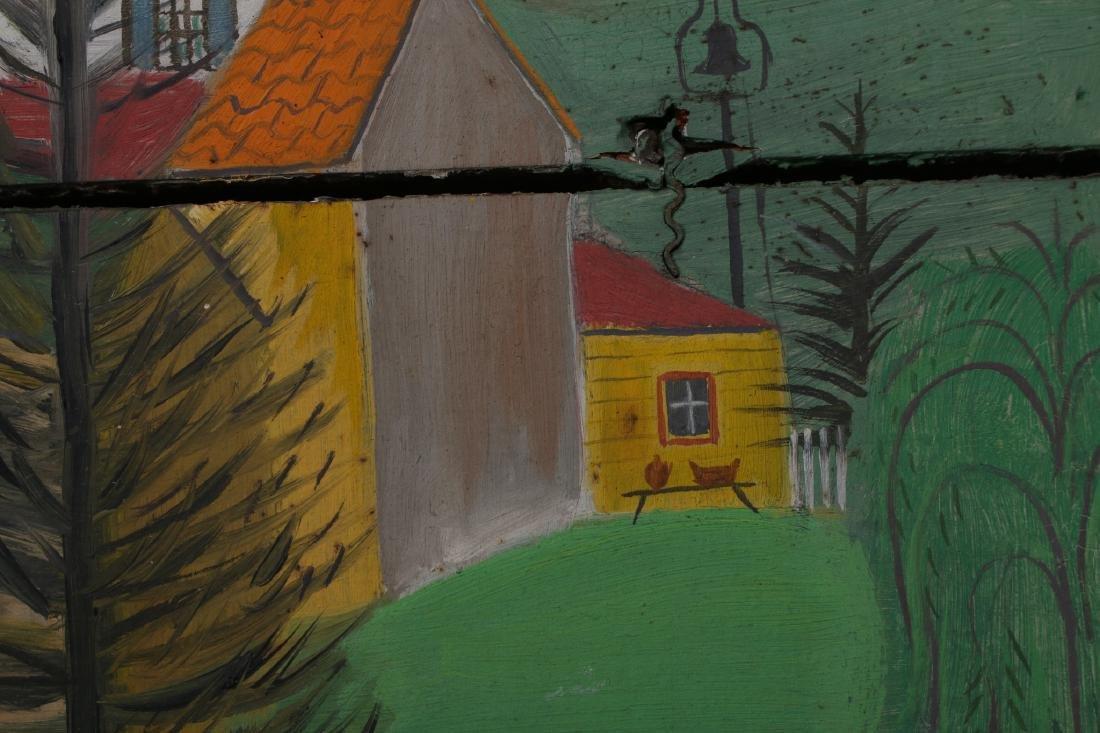 """""""LONG LANE FARM"""" BY DAVID ELLINGER (1913-2003) - 6"""