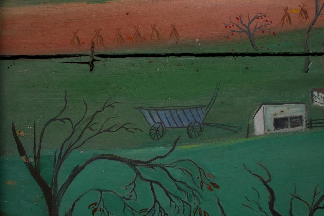 """LONG LANE FARM"" BY DAVID ELLINGER (1913-2003) - 7"