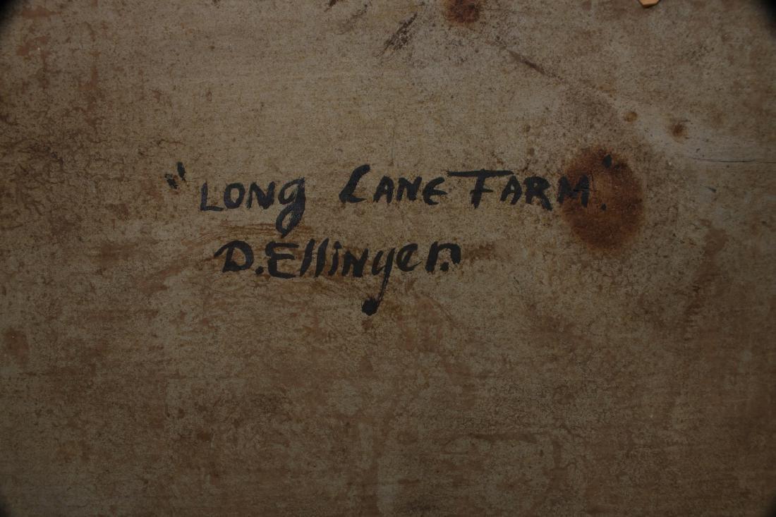 """""""LONG LANE FARM"""" BY DAVID ELLINGER (1913-2003) - 9"""