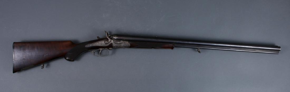 THIEME SCHLEGELMILCH-SUHL 1880S 3 BARREL SHOTGUN