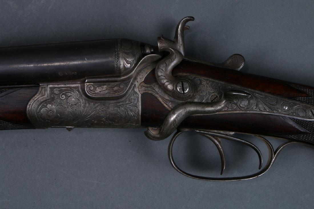 THIEME SCHLEGELMILCH-SUHL 1880S 3 BARREL SHOTGUN - 4