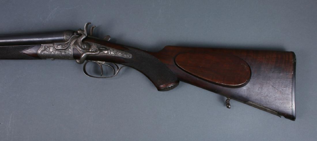 THIEME SCHLEGELMILCH-SUHL 1880S 3 BARREL SHOTGUN - 5