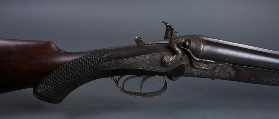 THIEME SCHLEGELMILCH-SUHL 1880S 3 BARREL SHOTGUN - 8