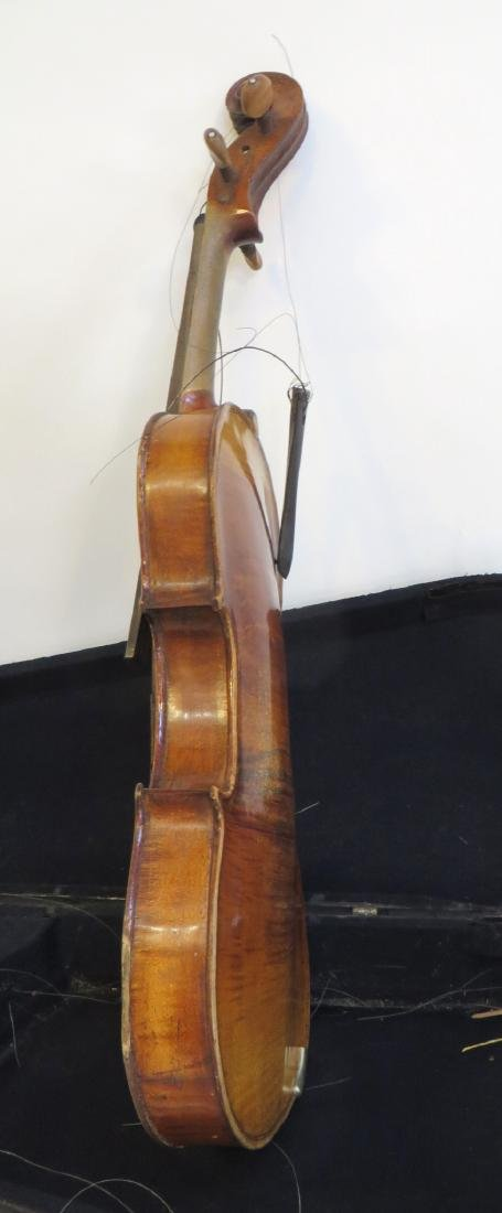 VIOLIN WITH CASE AND BOWS - 10