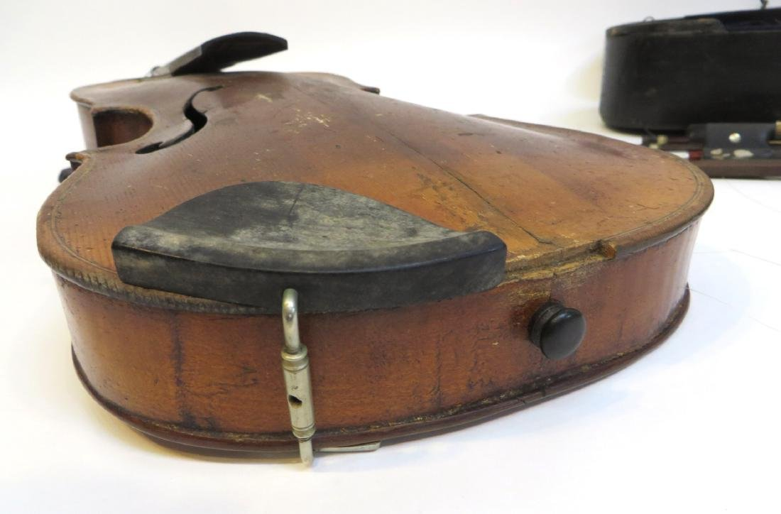 VIOLIN WITH CASE AND BOWS - 7