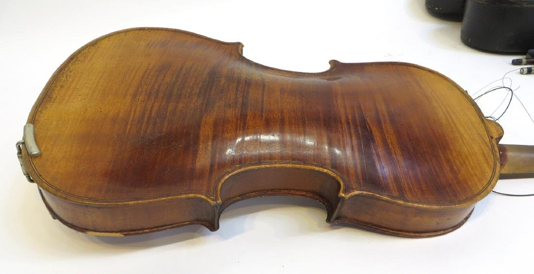 VIOLIN WITH CASE AND BOWS - 9