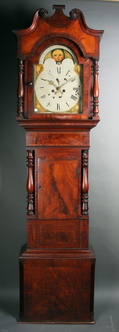 NORTHERN ENGLISH OR SCOTTISH GRANDFATHER CLOCK